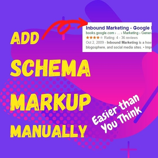Featured Snippent for Adding Schema Markup Manually